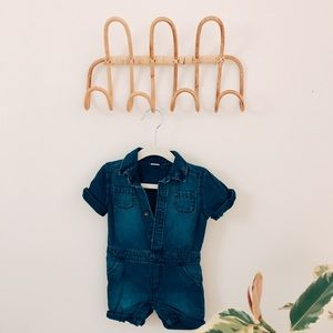 Old Navy One Pieces - ⋒ old navy painter jean jumpsuit